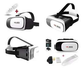 Gafas 3d Realidad Virtual Avanzada Vr Box Mas Control
