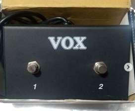 Vox Vfs2 Pedal Para Guitarra Electrica