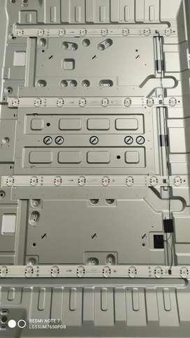 Vendo Kit Tiras Led Tv LG 55UM7650PDB