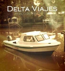 Delta Viajes Lancha-Taxi