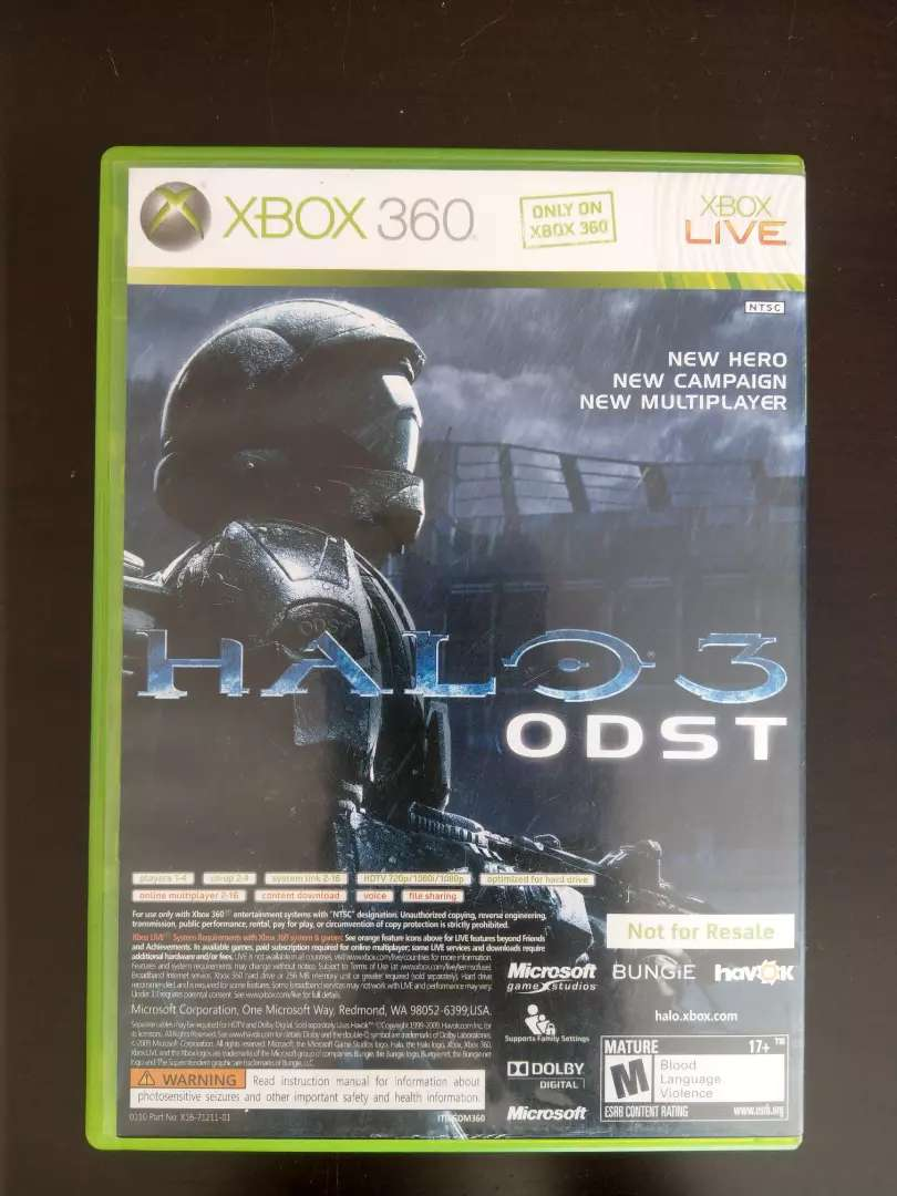 Halo 3: ODST & Forza Motorsport 3XBox 360Combo Pack