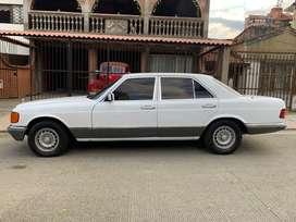 Mercedes clasico 280S en perfecto estado. Papeles al dia. Cojineria en cuero, aire, hidraulica, llantas nuevas