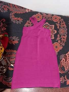 Vestido rosa nuevo