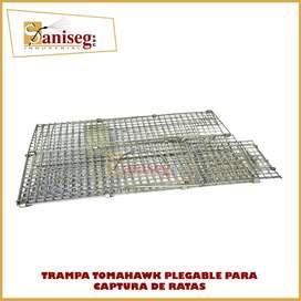 Trampa para ratas tipo TOMAHAWK Plegable