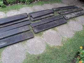 lote de tablas gruesas maderas para usos varios