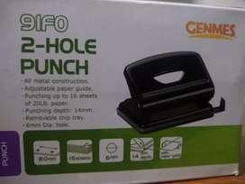 Perforadora semi-industrial  2 huecos