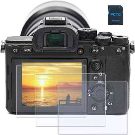 Vidrio Protector de pantalla LCD para Sony Alpha A7III a7SIII a7RII a7RIII a7RIV