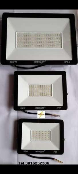 Reflectores Led 50W 100W 200W luz blanca Intemperie