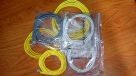 Cable de Red Patch Cord Varias Medidas y colores