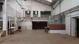 Galpón 3500 m2 en BITCOIN Nueva Pompeya