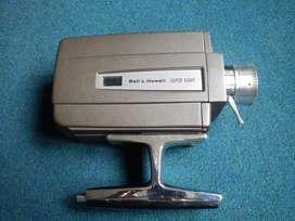 videocámara antigua bell and howell 311 super 8 camera