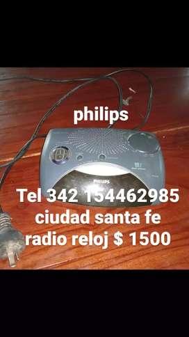 ciudad santa fe vendo radio reloj Philips