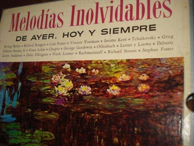 DISCOS COLECCION MELODIAS INOLVIDABLES 11 LP 0