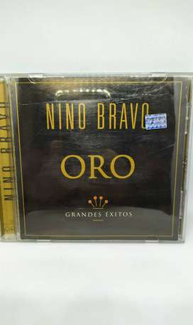 cd nino bravo álbum de oro