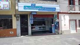 Farmacia en venta por viaje