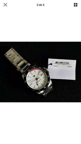 Vendo Tommy Hilfiger Hombre White Dial Stainless Steel