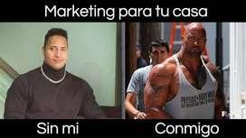 Se requiere practicante de marketing