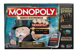 Monopoly Banco Electrónico Hasbro Original Entrega Rapida