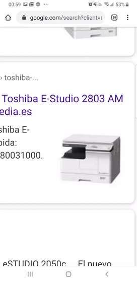 Fotocopiadora toshiba EStudio 2803