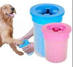 limpia patas para perros y gatos WALADOG SILICON-rosa,azul