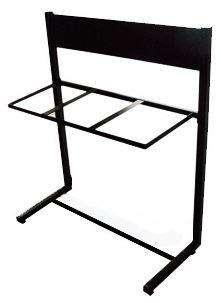 Mueble / Estructura para punto ecológico, 3 puestos para 55, 53 35 lt