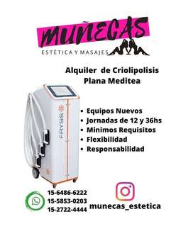 Alquiler Equipos Criolipolisis Meditea Fryss ! ! !