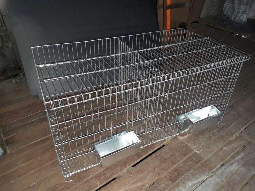 Jaulas para Conejos comederos