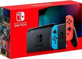 Consola Nintendo Switch 1.1 Neon