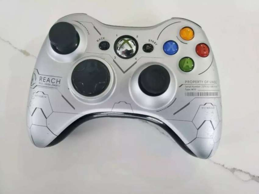 Controles originales xbox 360 halo reach 0