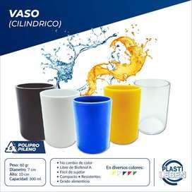 Vasos Plásticos 300ml Resistentes Anti-golpes