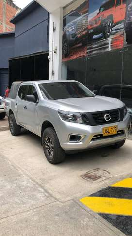 Nissan frontier 4x2 2017 doble cabina