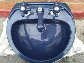 Lavamanos Azul