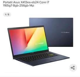 """Vivobook exhibicion i7 11gen/ 8gb Ram/SSD 256GB 14"""""""