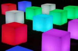 alquiler de barras y livings iluminados para eventos rosario 0341155823067