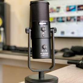 Microfono condensador USB M AUDIO UBER mic