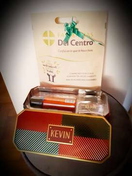 Perfume pack kevin - lata, desodorante  perfume!