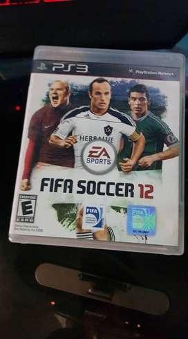 fifa soccer 12 ps3 play station 3 buen estado original
