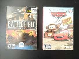 Battlefield 1942 PC mas regalo juego Cars PC