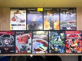 Playstation 2 , 9 Juegos originales