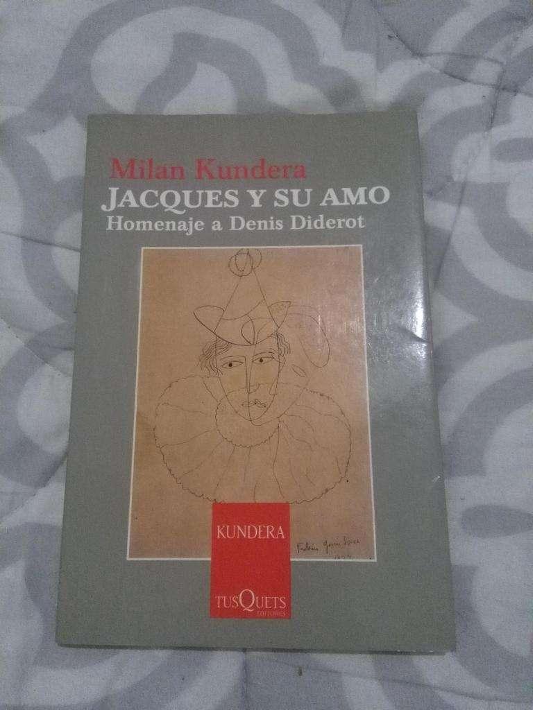 JACQUES Y SU AMO . HOMENAJE A DENIS DIDEROT . MILAN KUNDERA . LIBRO 2005