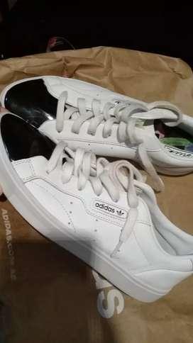 Zapatillas adidas sleek originals n•41 y medio