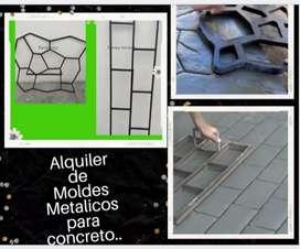 Alquiler de Moldes Metalicos.