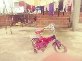 Bicicleta para niña pequeña