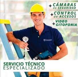Servicio Tecnico Especializado  Camaras de Seguridad CCTV DVR,CONTROL DE ACCESO,DOMO, CITOFONOS