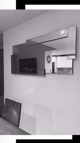 Espejos Decorativos 3D
