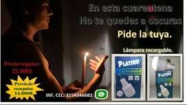 lampara de Emergencia platino