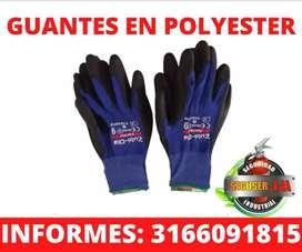 GUANTES DE POLYESTER