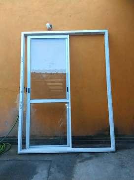 Puerta ventana balcon