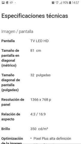 Tv Smart Philiphs 32 '
