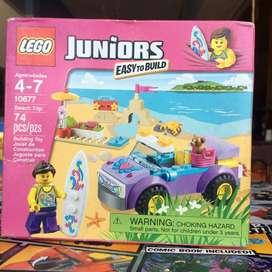 Lego juniors 10677 beach trip